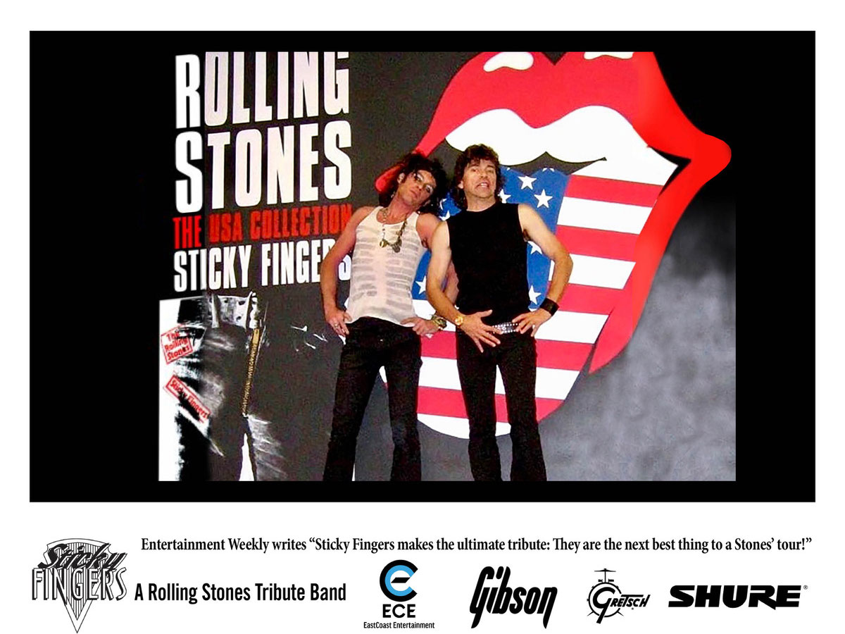 ECE - STICKY FINGERS - ROLLING STONES TRIBUTE