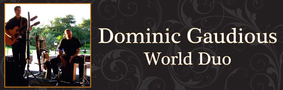 Image of DOMINIC GAUDIOUS WORLD DUO