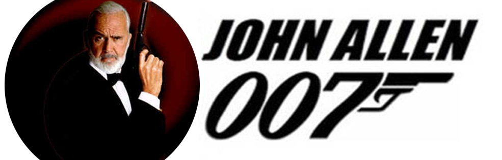 Image of JOHN ALLEN 007 - JAMES BOND IMPERSONATOR