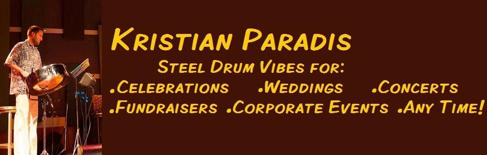 Image of STEEL DRUMS - KRISTIAN PARADIS