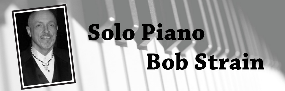 Image of Solo Piano - Bob Strain