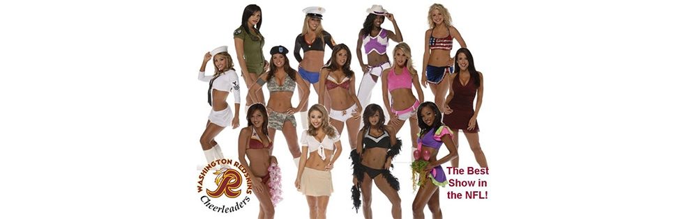 Image of Redskins Cheerleaders
